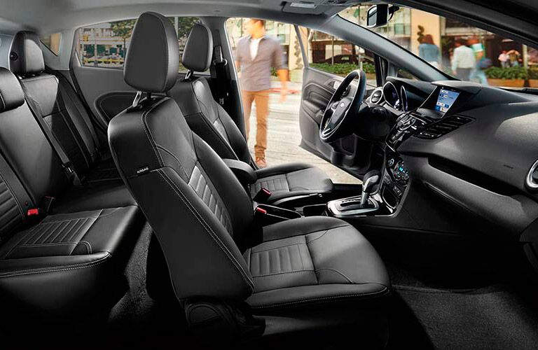 2017 Ford Fiesta front interior passenger space