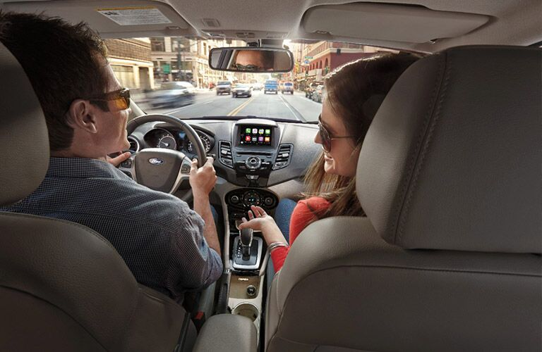 2017 Ford Fiesta EcoBoost interior