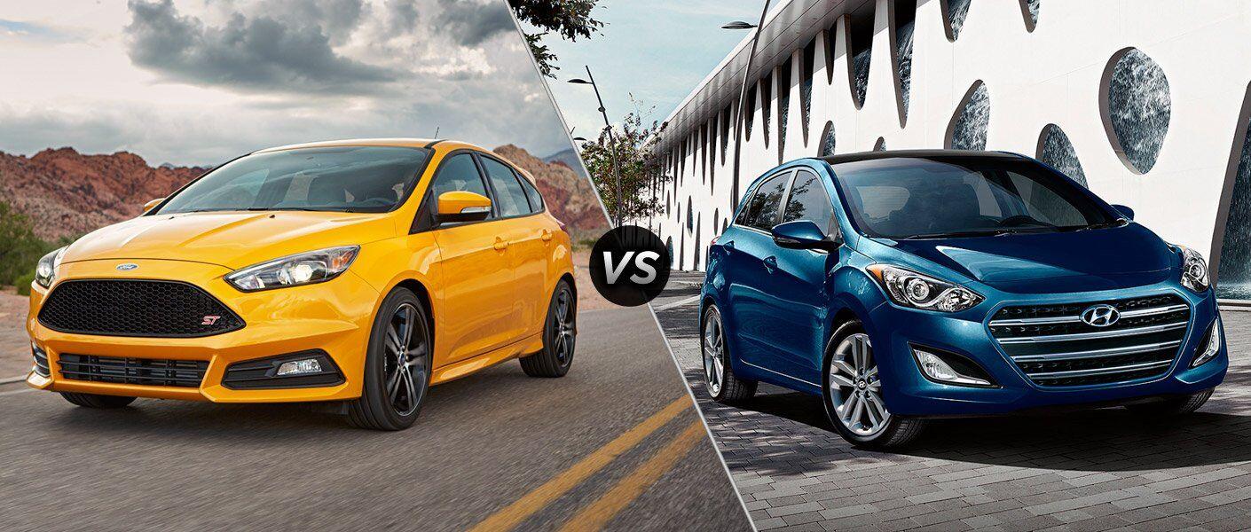 2017 Ford Focus vs 2017 Hyundai Elantra