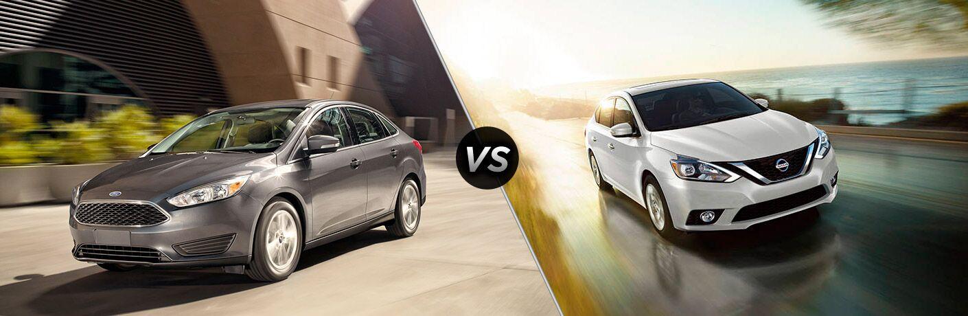 2017 Ford Focus vs 2017 Nissan Sentra