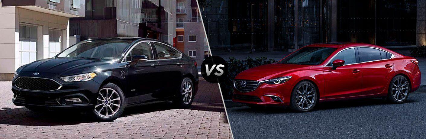 2017 Ford Fusion vs 2017 Mazda6