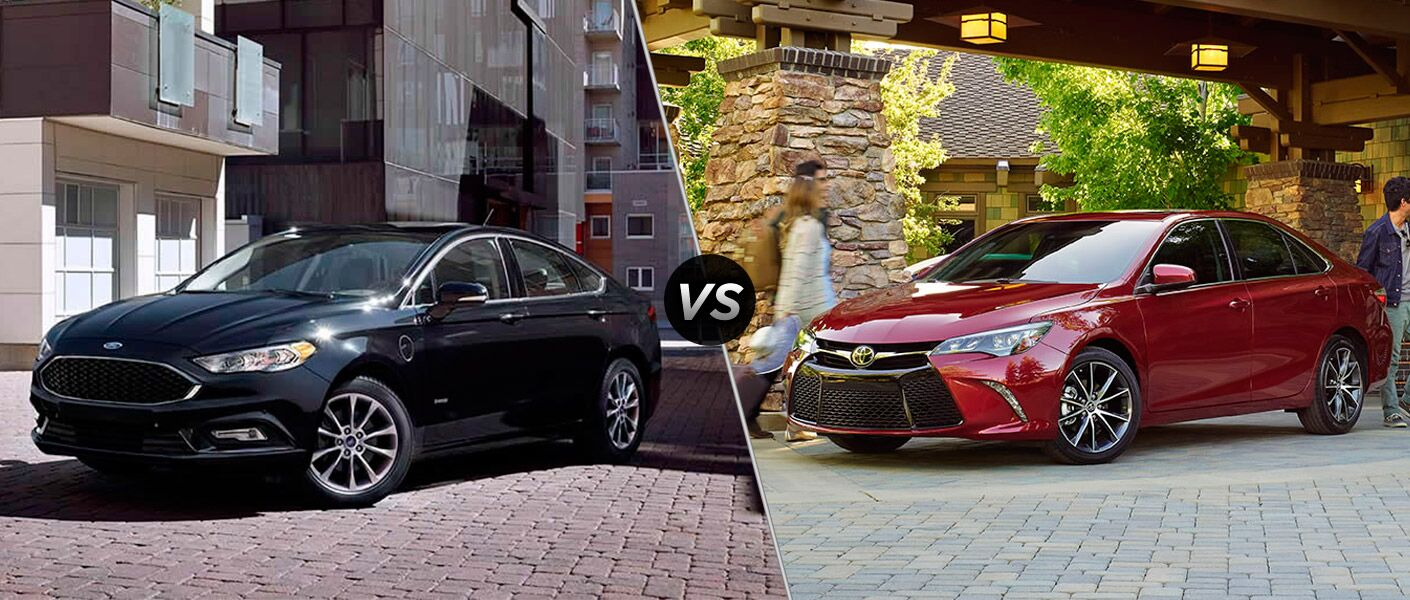2017 Ford Fusion vs 2017 Toyota Camry