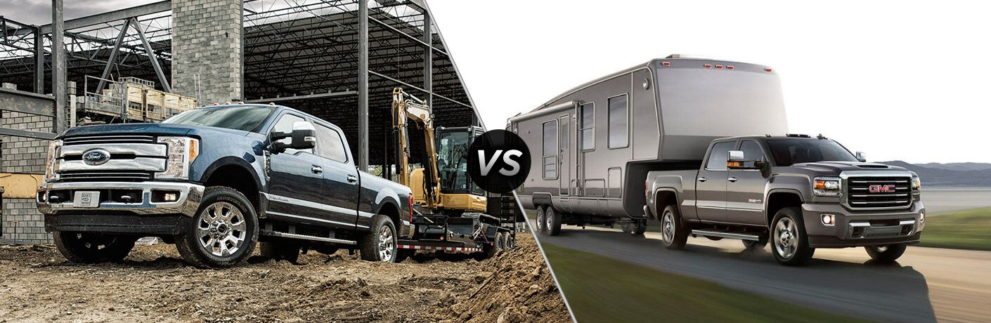 2017 Ford Super Duty vs 2017 GMC Sierra HD