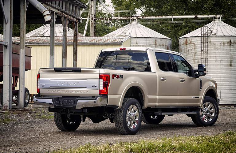 2017 Ford Super Duty Diesel back