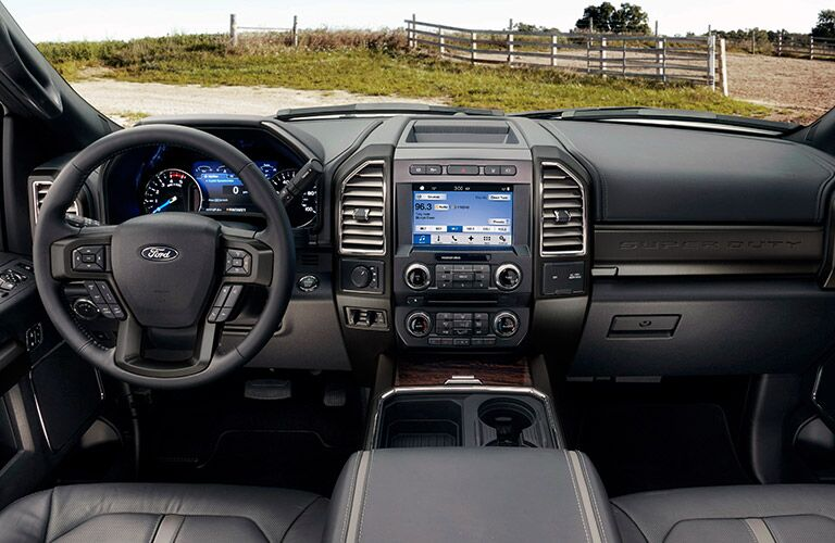 2017 Ford Super Duty Diesel interior