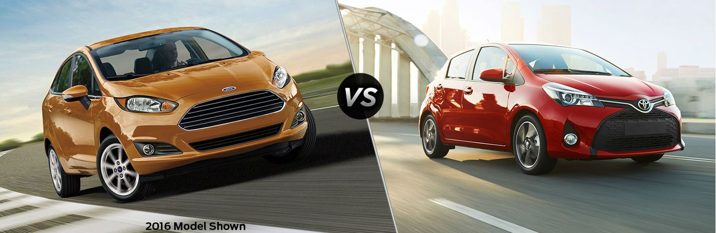 2017 Ford Fiesta Hatchback vs 2017 Toyota Yaris