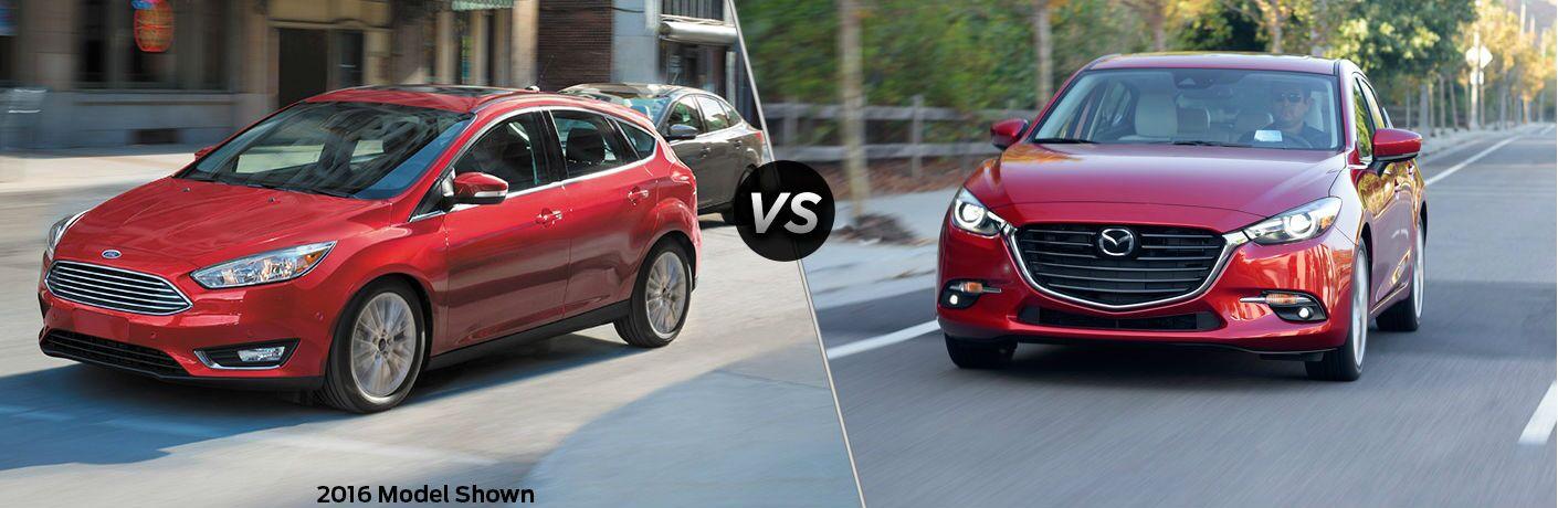 2017 Ford Focus vs 2017 Mazda3