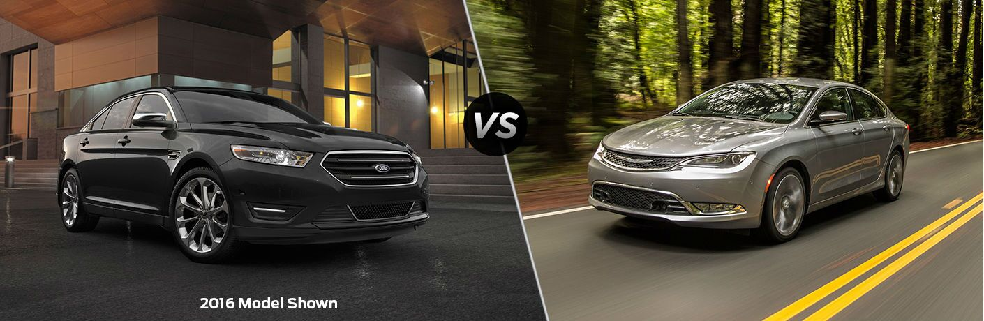 2017 Ford Taurus vs 2017 Chrysler 200
