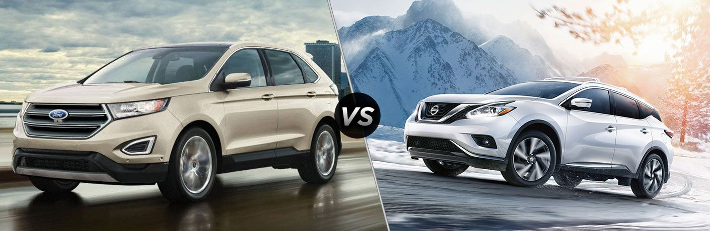 2018 Ford Edge vs 2018 Nissan Murano