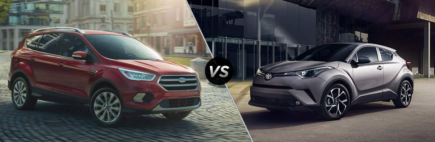 2018 Ford Escape vs 2018 Toyota C-HR