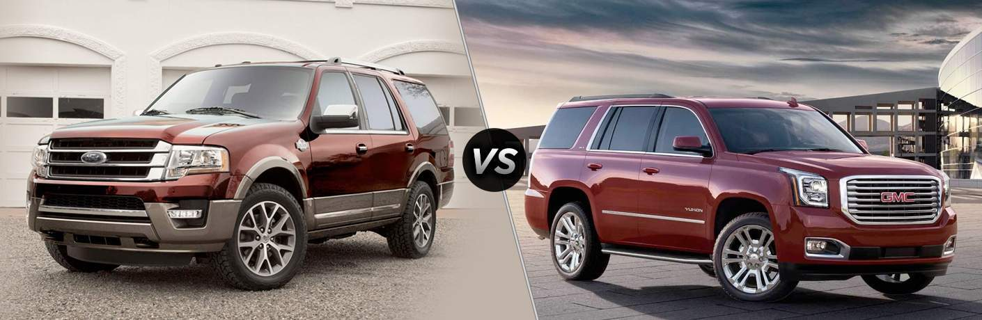 2018 Ford Expedition vs 2018 GMC Yukon