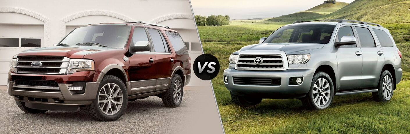 2018 Ford Expedition vs 2018 Toyota Sequoia