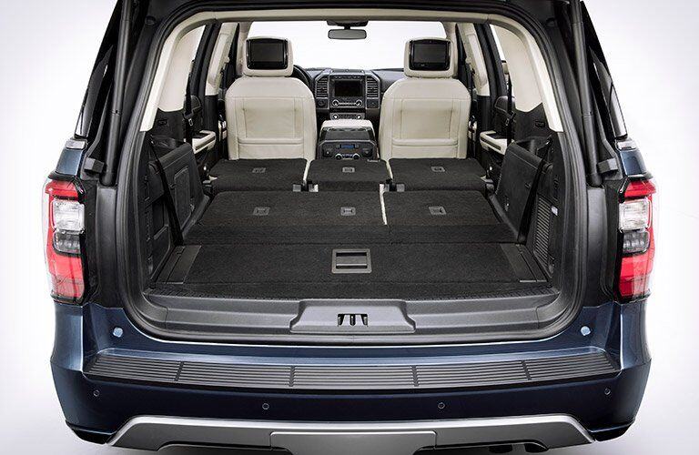 2018 Ford Expedition rear interior cargo space