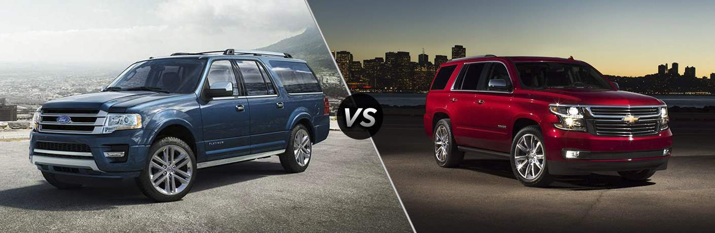 2018 Ford Expedition vs 2018 Chevrolet Tahoe