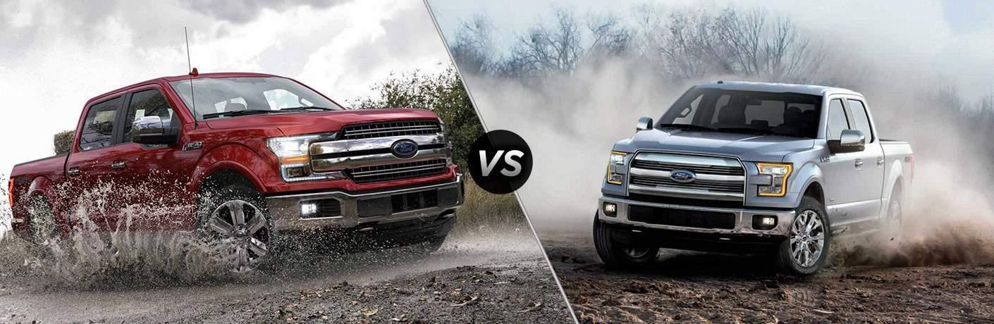 & 2018 Ford F-150 vs 2018 Ford F-150 Diesel markmcfarlin.com