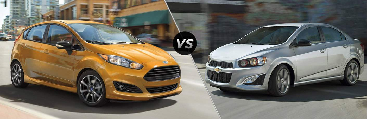 2018 Ford Fiesta vs 2018 Chevy Sonic