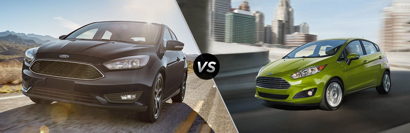 2018 Ford Focus vs 2018 Ford Fiesta