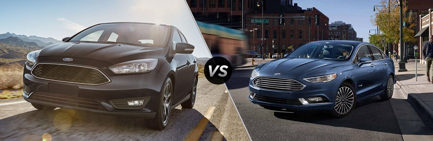 2018 Ford Focus vs 2018 Ford Fusion
