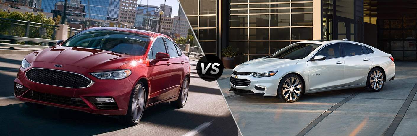 2018 Ford Fusion vs 2018 Chevrolet Malibu