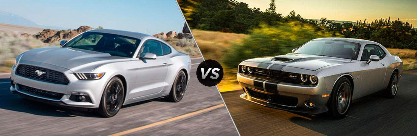 2018 Ford Mustang vs 2018 Dodge Challenger
