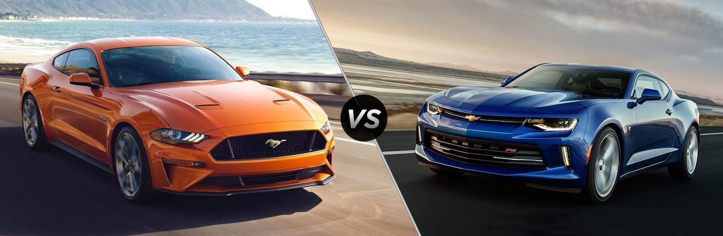 2018 Ford Mustang vs 2018 Chevrolet Camaro