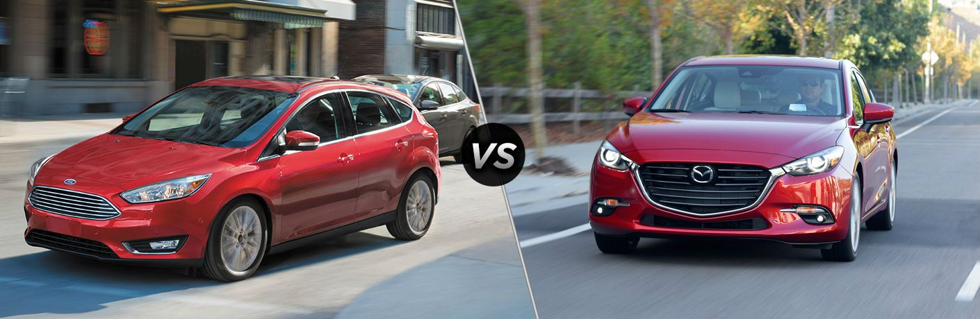 2018 Ford Focus vs 2018 Mazda3