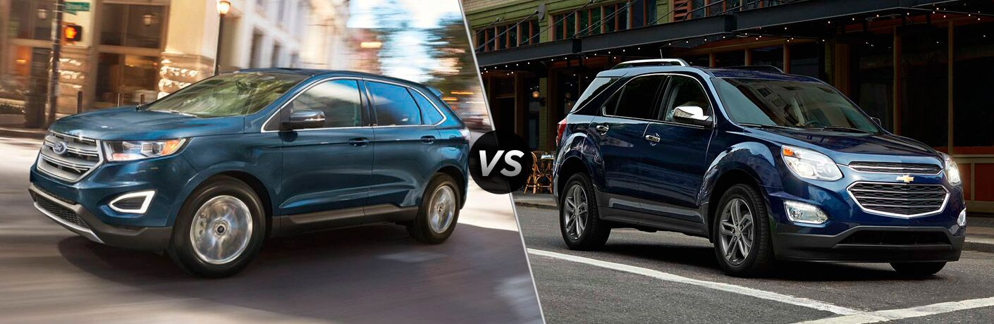 2019 Ford Edge vs 2018 Chevy Equinox