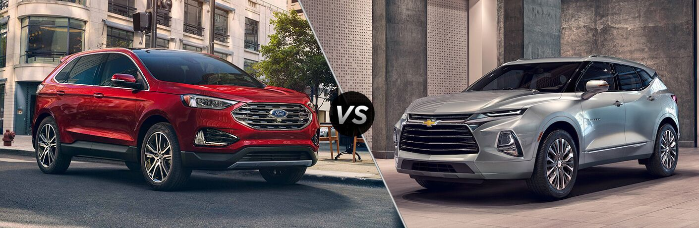 2019 Ford Edge vs 2019 Chevrolet Blazer