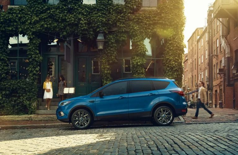 2019 Ford Escape SE parked on street
