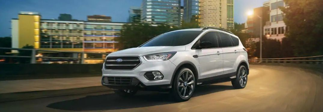 2019 Ford Escape SE on city street