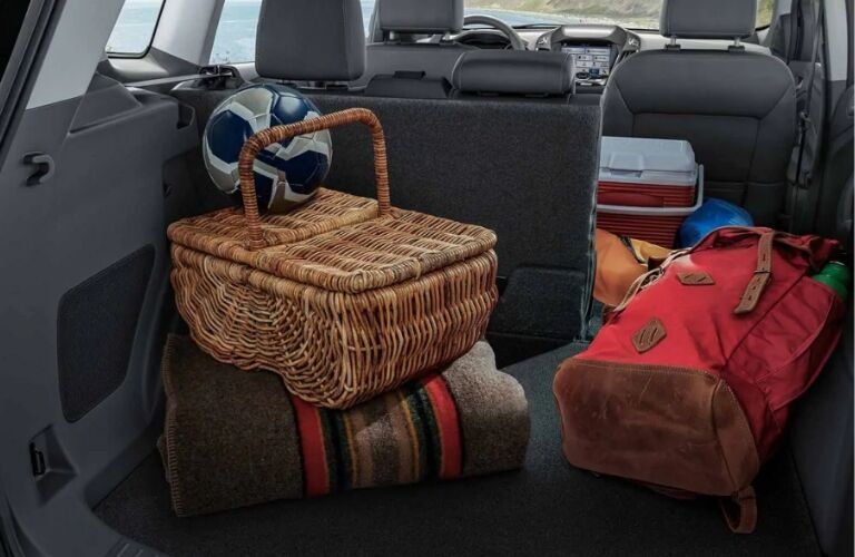 2019 Ford Escape cargo area