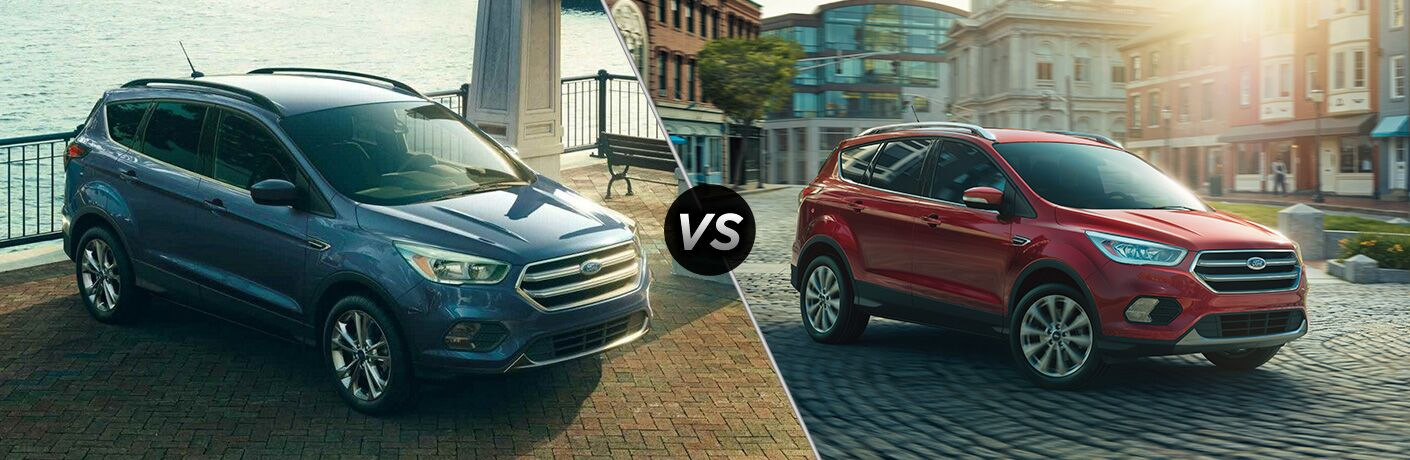 2019 Ford Escape vs 2018 Ford Escape
