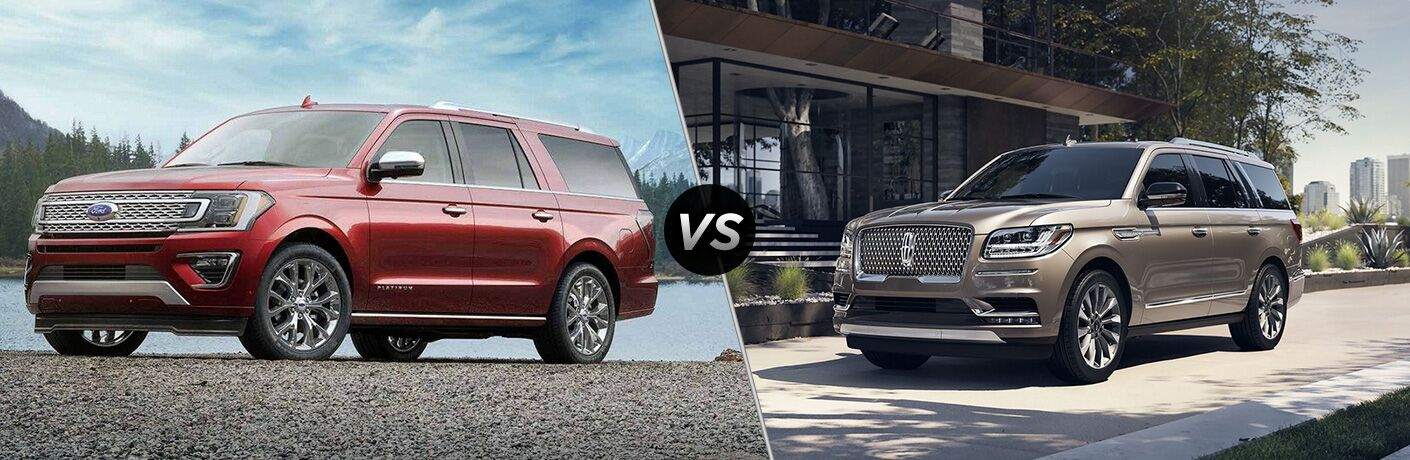 2019 Ford Expedition vs 2019 Lincoln Navigator