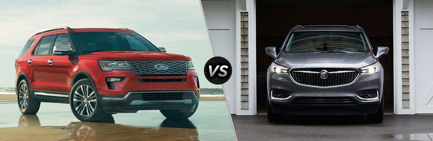 2019 Ford Explorer vs 2019 Buick Enclave