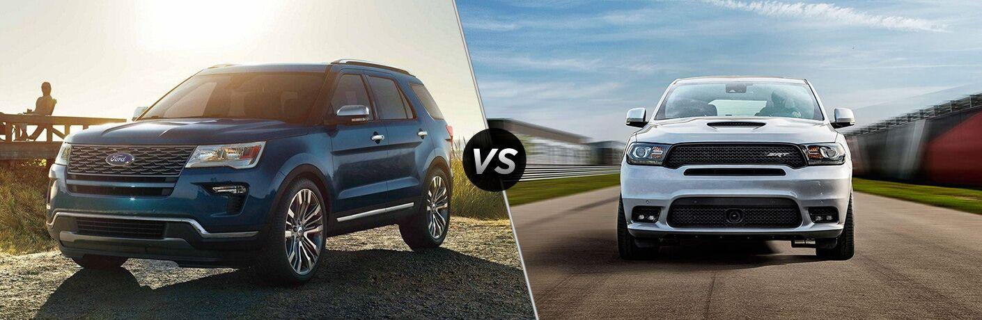 2019 Ford Explorer vs 2019 Dodge Durango