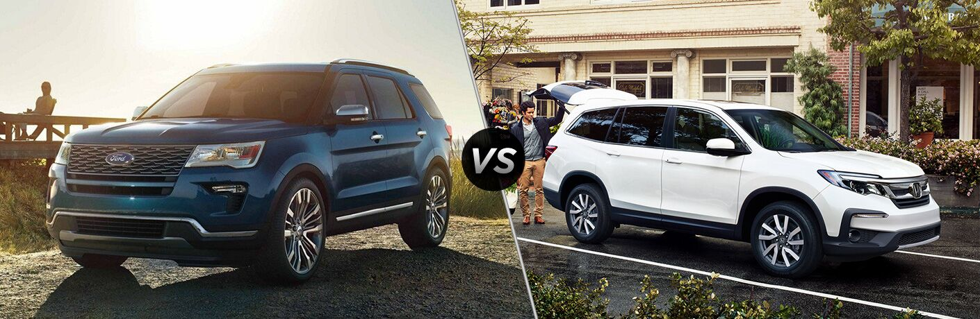 2019 Ford Explorer vs 2019 Honda Pilot