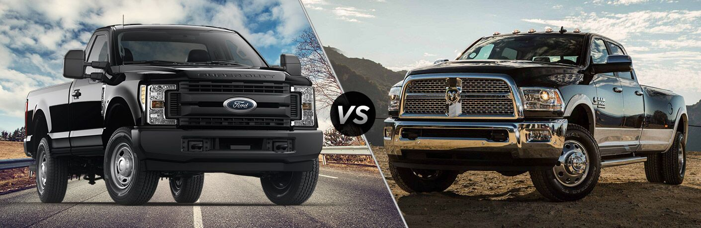 2019 Ford F-350 Super Duty vs 2018 Ram 3500