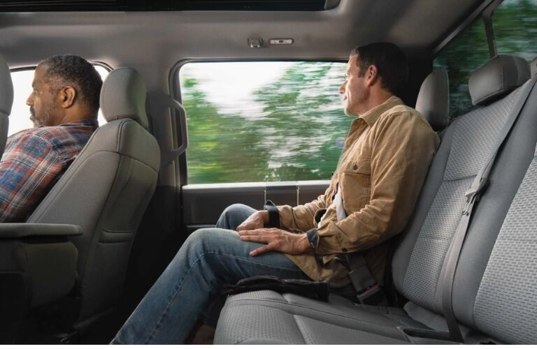 2019 Ford F-150 XLT Rear Seat with SuperCrew Cab Configuration