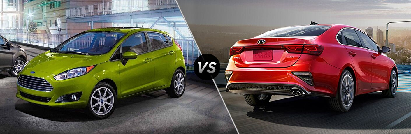 2019 Ford Fiesta vs 2019 Kia Forte