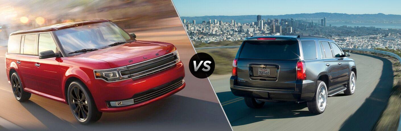 2019 Ford Flex vs 2018 Chevy Tahoe