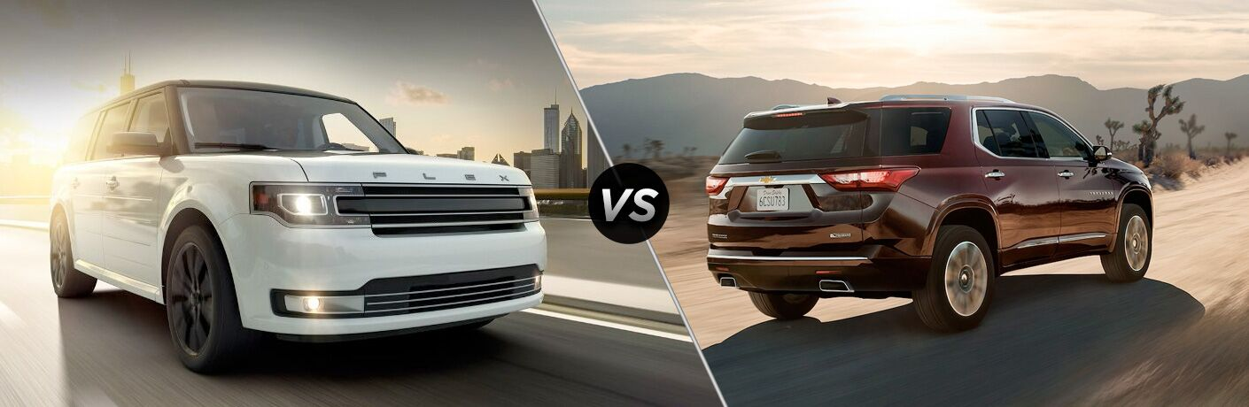 2019 Ford Flex vs 2018 Chevy Traverse