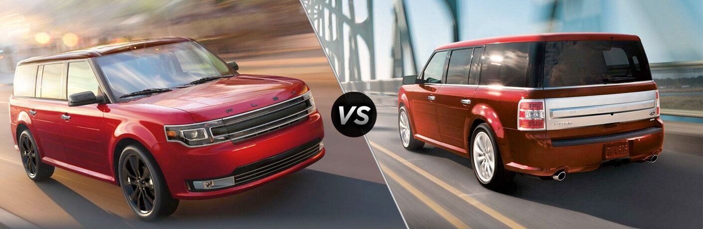 2019 Ford Flex vs 2018 Ford Flex