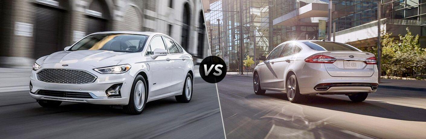 2019 Ford Fusion vs 2018 Ford Fusion