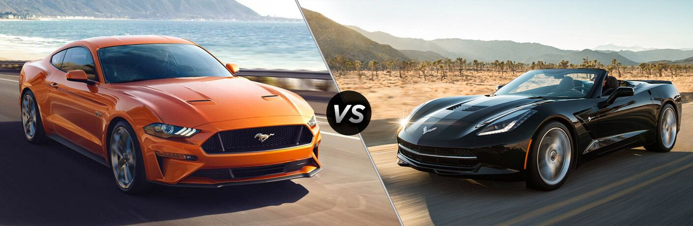 2019 Ford Mustang vs 2019 Chevrolet Corvette ZR1