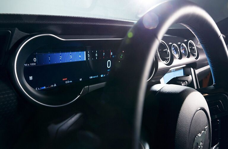 2019 Ford Mustang digital instrument cluster