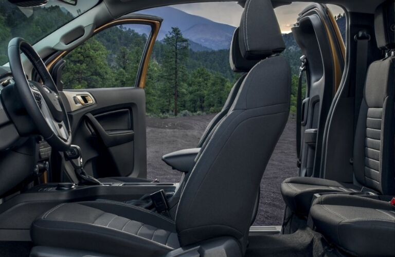 2019 Ford Ranger 2-row seating