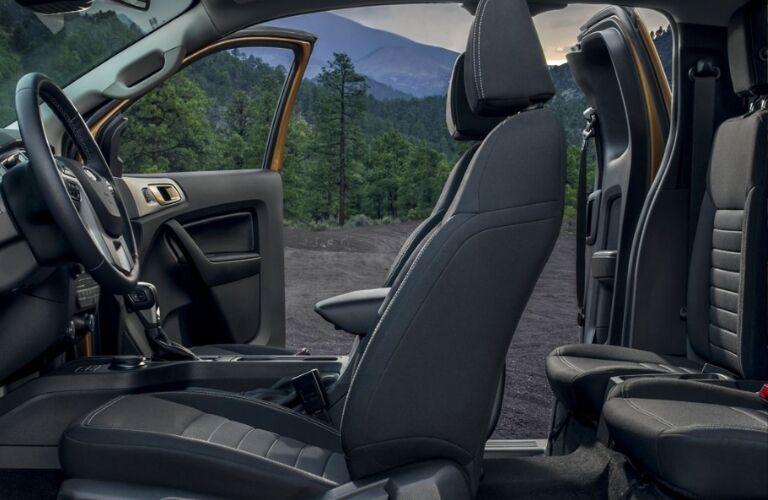 2019 Ford Ranger XLT cabin