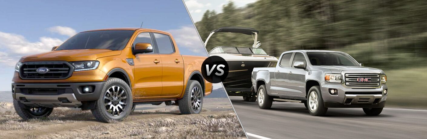 2019 Ford Ranger vs 2019 GMC Canyon