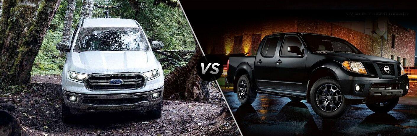 2019 Ford Ranger vs 2019 Nissan Frontier
