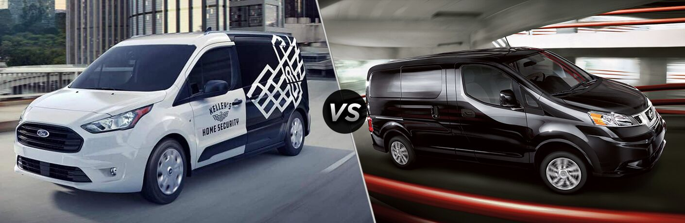 2019 Ford Transit Connect Van vs 2019 Nissan NV200